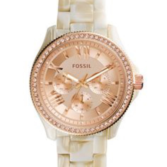 8976928c88de Fossil Accessories - Fossil watch women Cecile